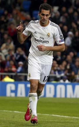 "Защитник ""Реала"" Альваро АРБЕЛОА. Фото Reuters"