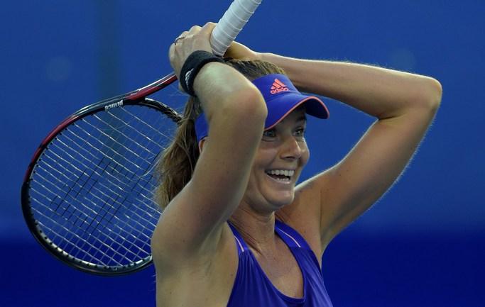 Словацкая теннисистка Даниэла ХАНТУХОВА Фото AFP