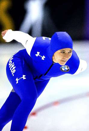 Американская конькобежка Бриттани БОУ Фото AFP