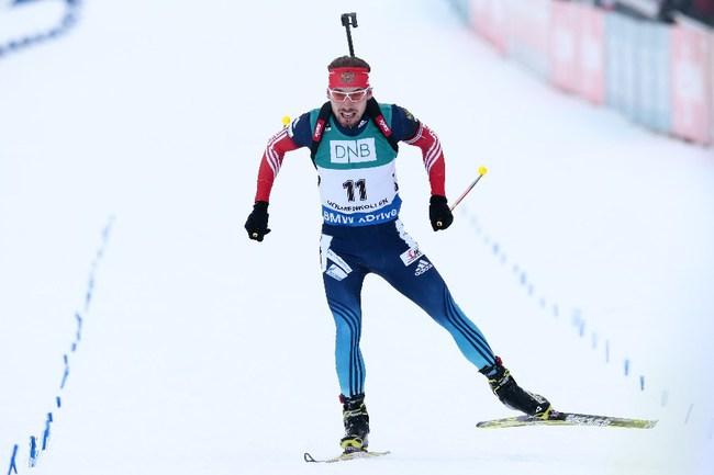 Антон ШИПУЛИН принес России победу в эстафете в Норвегии. Фото AFP