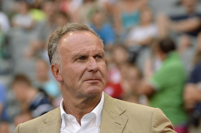 """Председатель правления """"Баварии"""" Карл-Хайнц РУММЕНИГГЕ. Фото AFP"""