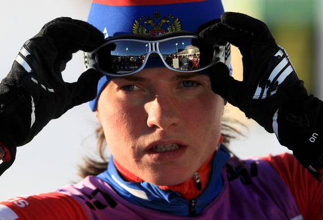 Олимпийская чемпионка Ванкувера Светлана СЛЕПЦОВА Фото Евгений ТУМАШОВ, СБР