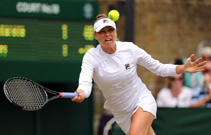 Российская теннисистка Вера ЗВОНАРЕВА Фото AFP