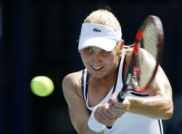 Российская теннисистка Елена ВЕСНИНА Фото Reuters