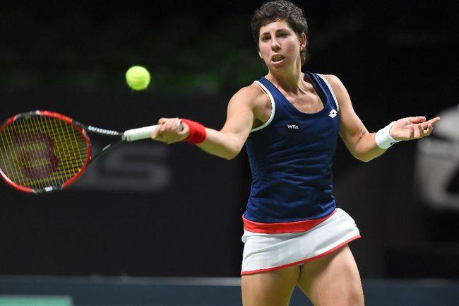 Испанская теннисистка Карла СУАРЕС НАВАРРО Фото AFP