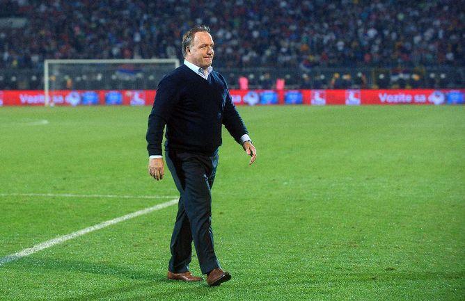 Бывший главный тренер сборной России Дик АДВОКАТ Фото AFP