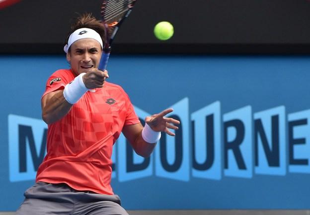 Испанский теннисист Давид ФЕРРЕР Фото AFP