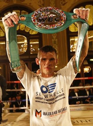 Британский боксер Мартин МЮРРЕЙ Фото AFP