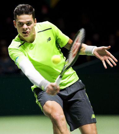 Канадский теннисист Милош РАОНИЧ Фото AFP