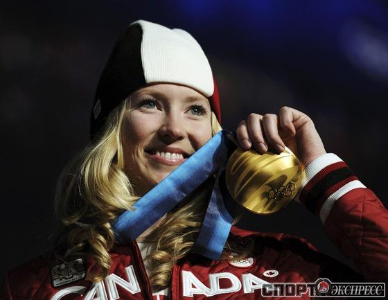 Эшли МАКАЙВОР (Канада). Фристайл. Ски-кросс. Фото Reuters