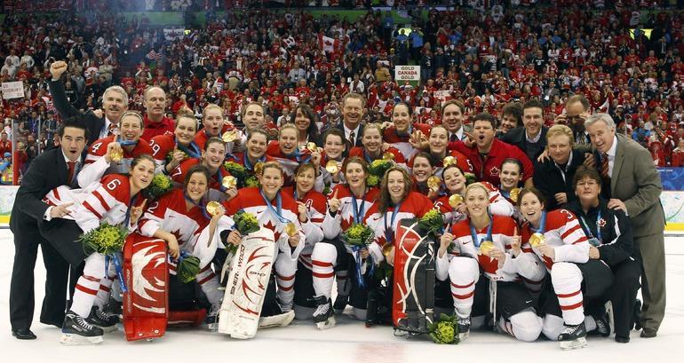 КАНАДА. Хоккей. Женщины. Фото Reuters