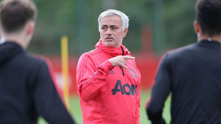 "Жозе Моуринью. Фото ""Манчестер Юнайтед"""