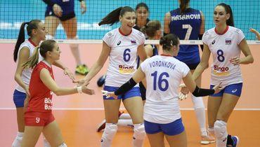 Чемпионат мира по волейболу. Женщины. Россия – Азербайджан – 3:0. Обзор матча