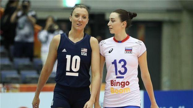 Чемпионат мира по волейболу, женщины, Россия – США – 2:3, обзор матча