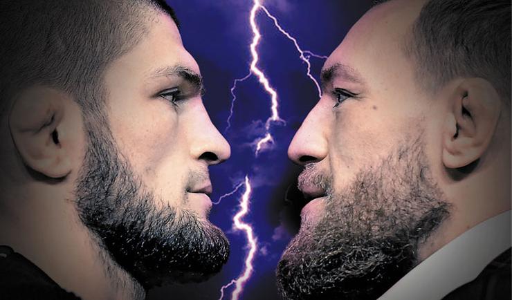 Хабиб Нурмагомедов vs Конор Макгрегор.