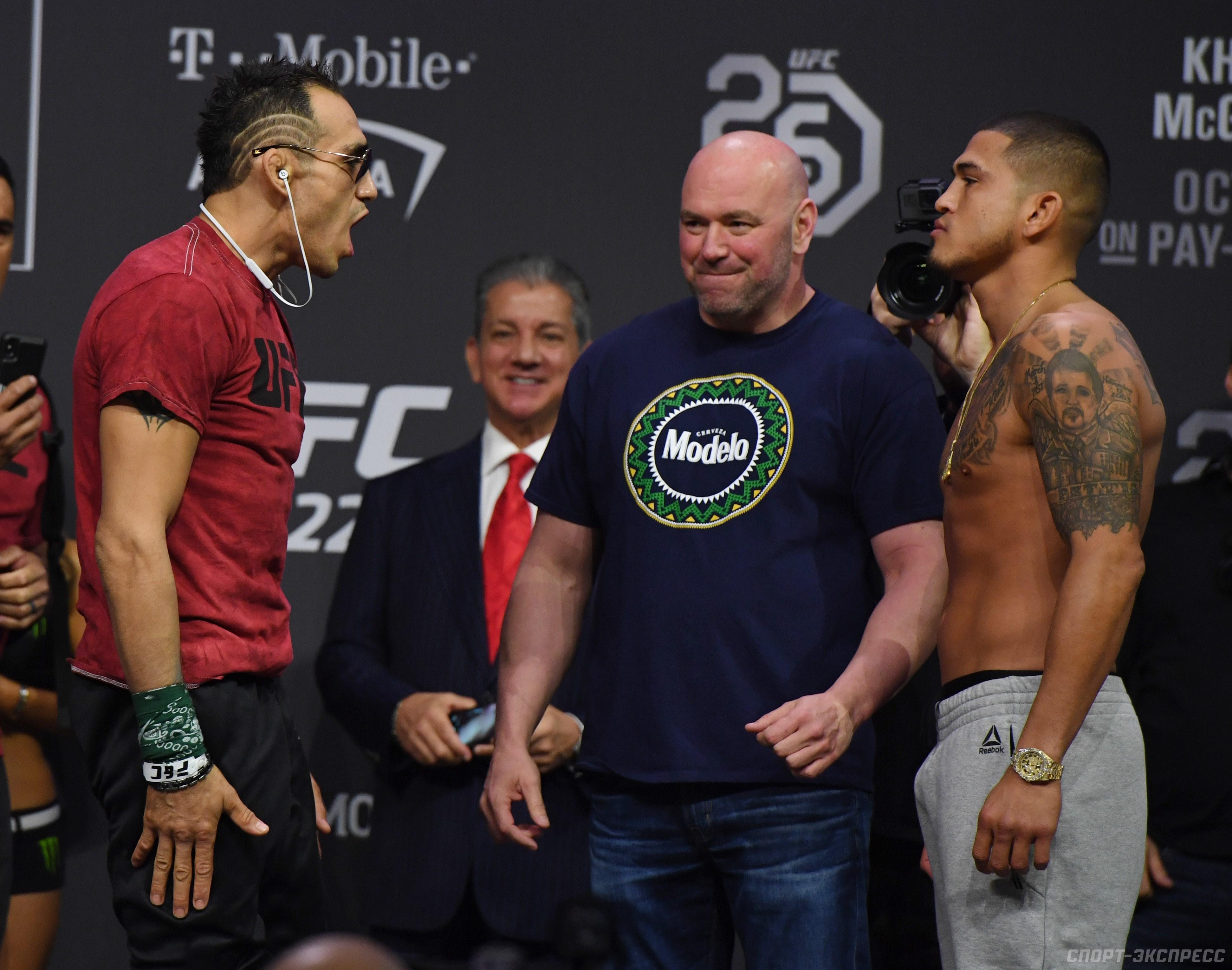 Расписание боёв UFC 13 апреля 2019 года