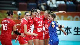 Россиянки разгромили сборную Турции.