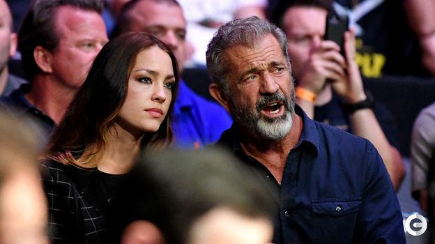 6 октября. Лас-Вегас. Турнир UFC 229. На трибуне актер Мэл Гибсон. Фото Reuters