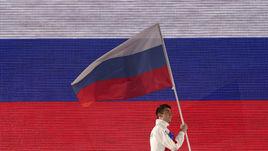 Колесников пронес флаг России по центру Буэнос-Айреса