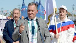 6 октября. Станислав Поздняков провел встречу с Олимпийской командой России в преддверии старта ЮОИ-2018.