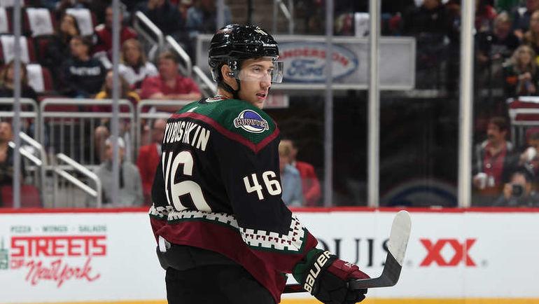 Илья Любушкин. Фото НХЛ