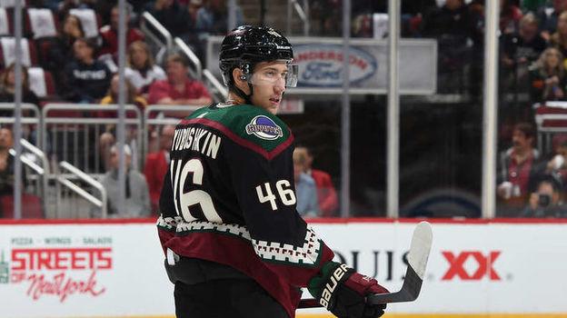 Россияне в НХЛ, Аризона, Илья Любюшкин, наши защитники в НХЛ, дебюты в НХЛ, аренда дома в США