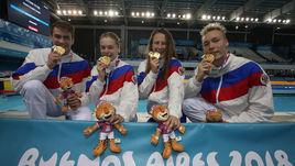 Пять золотых медалей в первый день Олимпиады