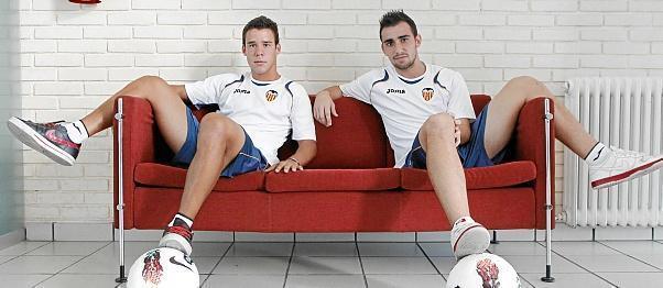 Пако Алькасер и Хуан Бернат.