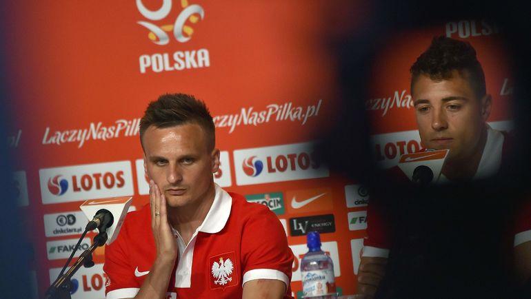 Славомир Пешко (слева). Фото REUTERS