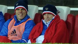 26 марта 2016 года. Москва. Александр Кокорин и Павел Мамаев.