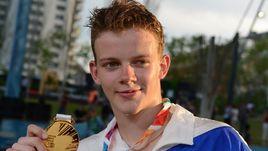Победитель турнира по брейк-дансу Сергей ЧЕРНЫШЕВ.
