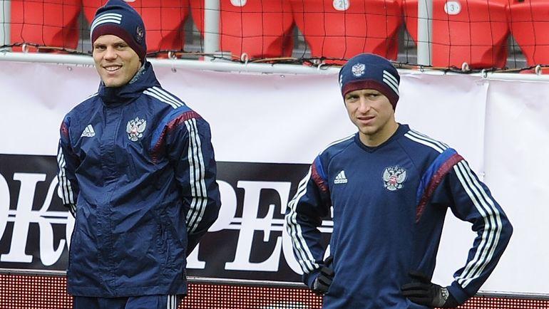 Александр Кокорин и Павел Мамаев. Фото Алексей Иванов