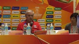 Тренер сборной - о поражении от Италии