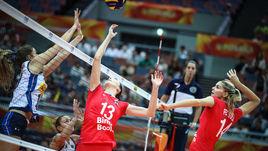 Россиянки проиграли Италии на чемпионате мира.