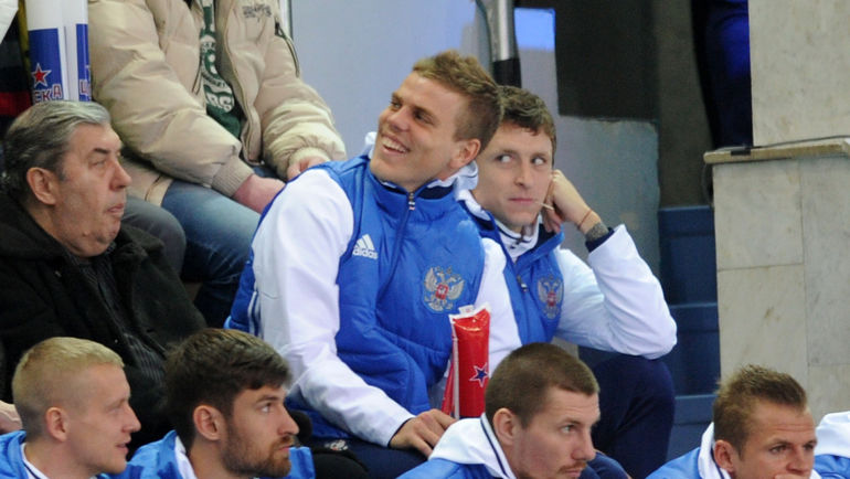 Александр Кокорин и Павел Мамаев (справа). Фото Алексей Иванов