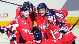 Овечкин - вторая звезда дня в НХЛ. Крутые кадры
