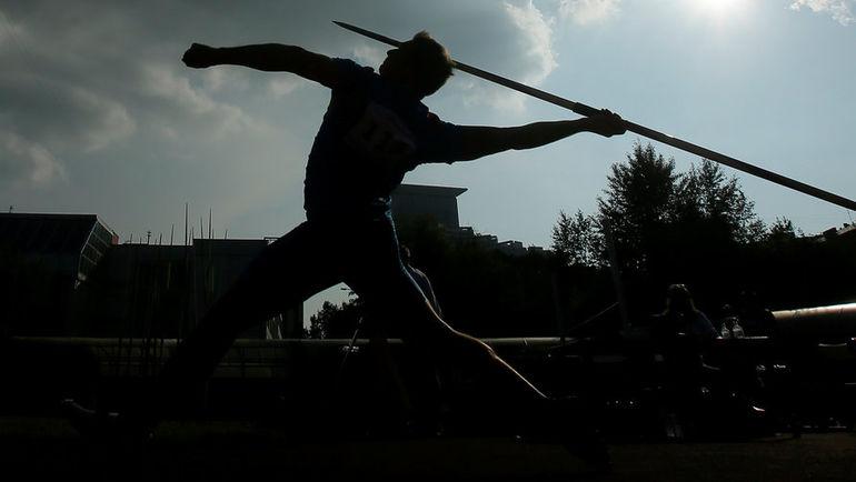 Российский атлет. Фото REUTERS