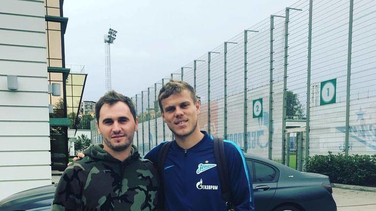 Геннадий Куропаткин и Александр Кокорин. Фото ВКонтакте