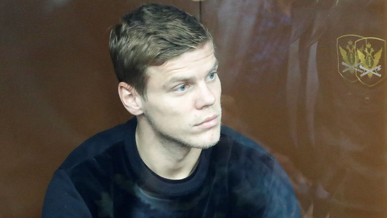11 октября. Москва. Александр Кокорин в зале суда.