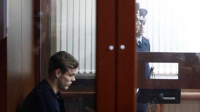 Александр Кокорин в Тверском суде Москвы. Фото REUTERS