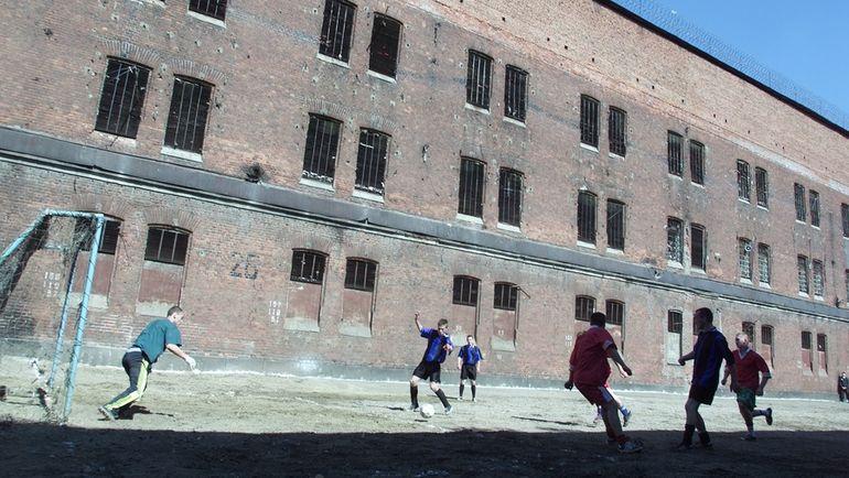 Футбольный матч в Бутырской тюрьме. Фото Григорий Филиппов