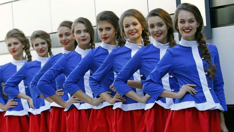 Грид-гелз Гран-при Сочи. Фото AFP