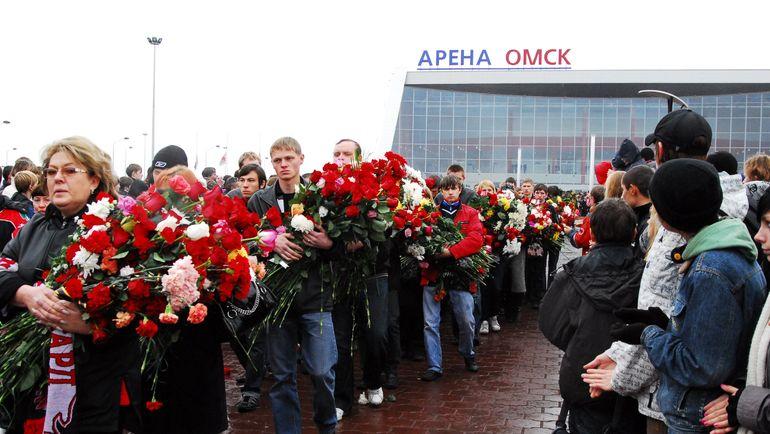 Прощание с Алексеем Черепановым. Фото Валерия Гошеева