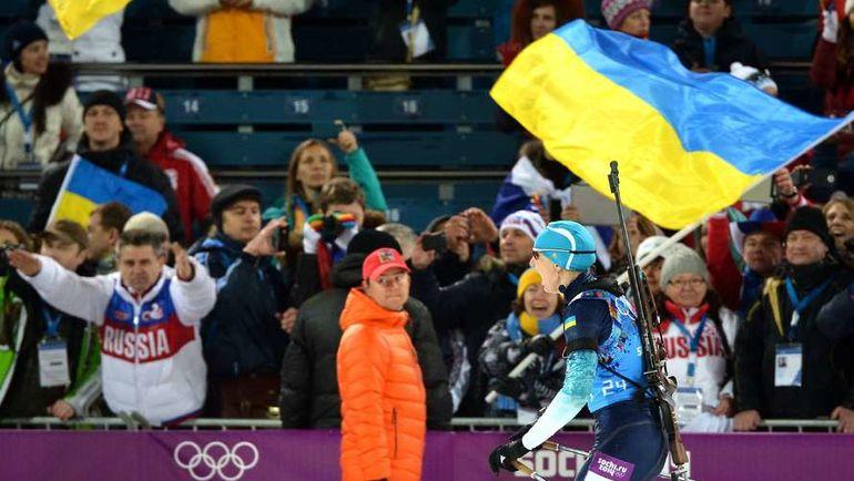 В команде украинских биатлонистов появились еще две россиянки. Фото AFP
