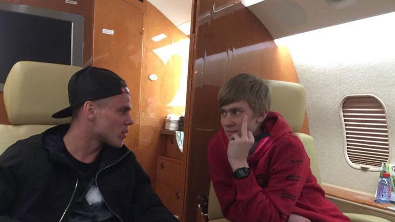 Александр и Кирилл Кокорины. Фото Инстаграм