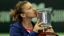 Симона Халеп возвращается в Москву впервые с 2013 года, когда завоевала титул.