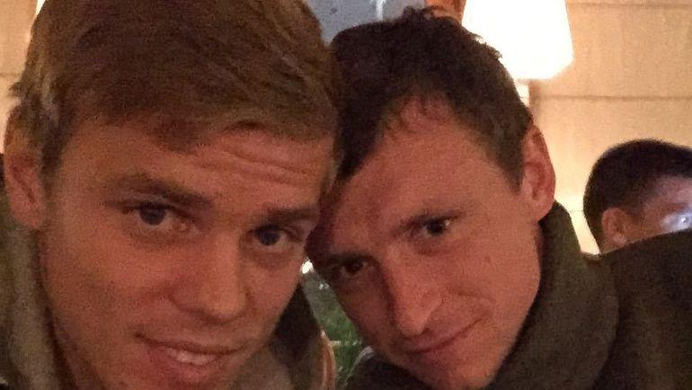 Александр Кокорин и Павел Мамаев. Фото Истаграм Александра Кокорина