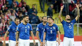 Манчини прервал черную серию. Италия наконец-то заиграла