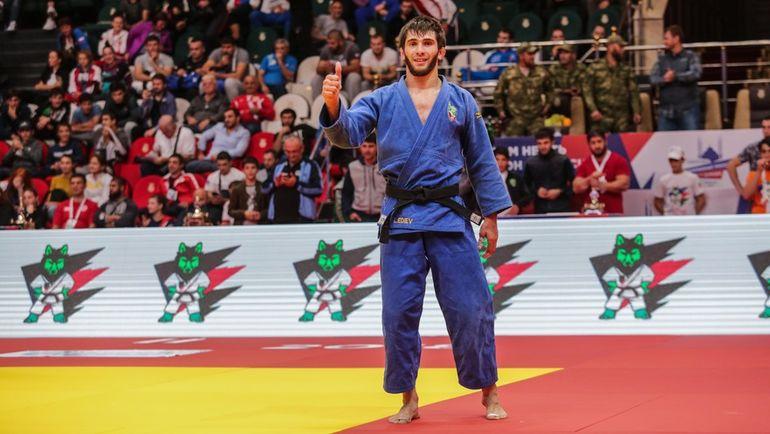 Лечи Эдиев, победитель в весовой категории до 73 кг.