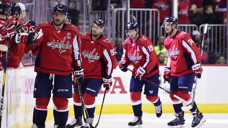 """18 октября. Вашингтон. """"Вашингтон"""" – """"Рейнджерс"""" – 4:3 ОТ. Александр Овечкин (слева). Фото NHL.com"""